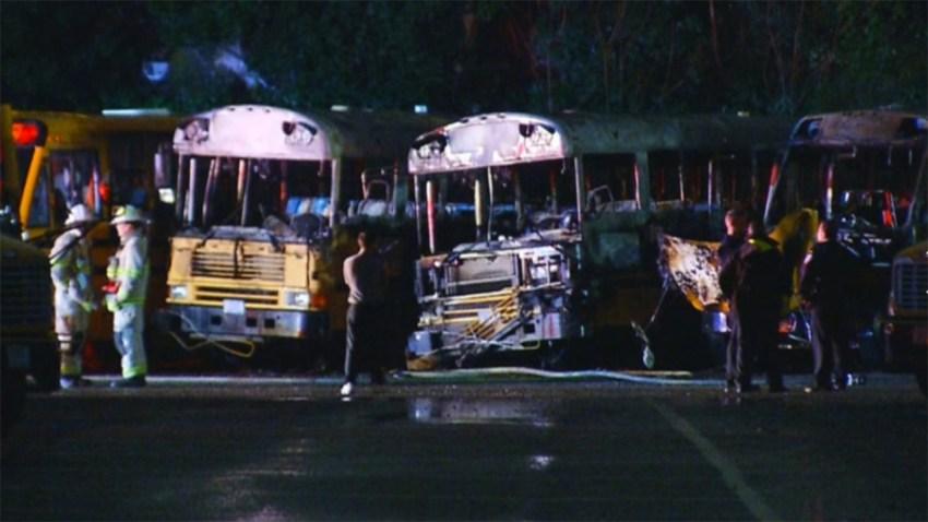 101218 school buses on fire