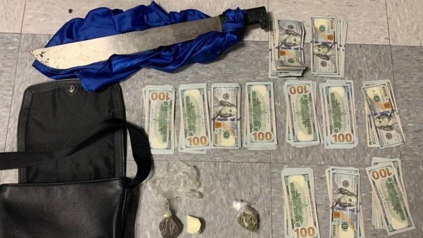 103119 drug trafficking machete arrest-ed