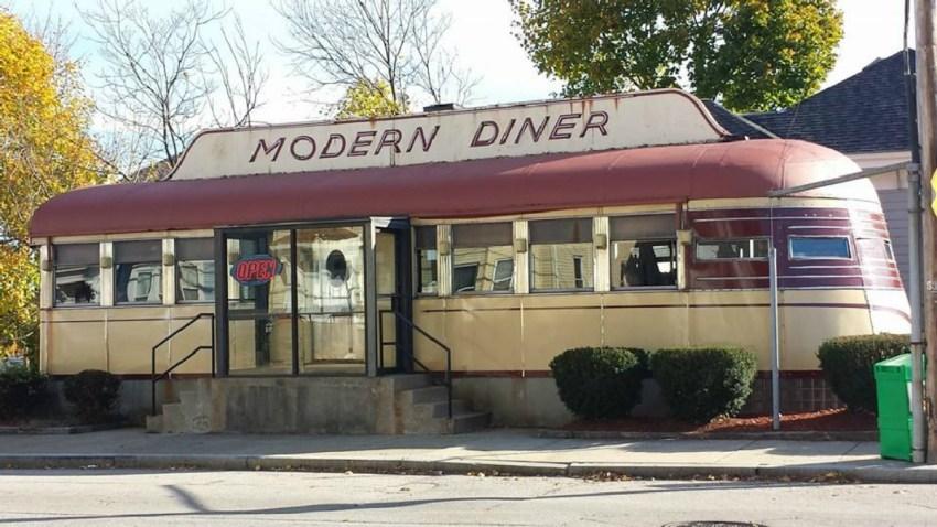 Modern Diner Pawtucket Rhode Island