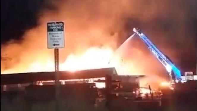 112119 lumber yard fire