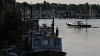 In this July 21, 2012, file photo, a fishing boat leaves the dock in Portland, Maine. The city was ranked No. 8 on U.S. News and World Report's list of the top 150 places to live in 2020 to 2021