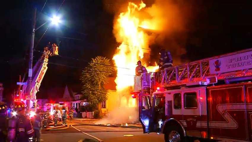 91119 providence ri fire