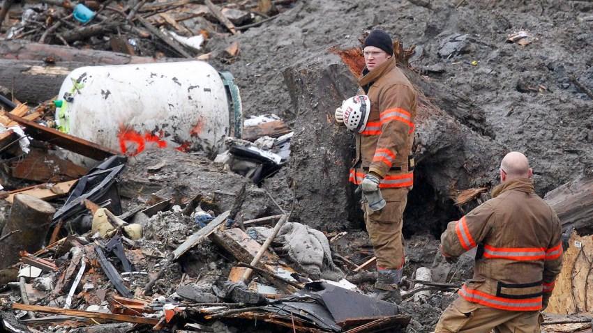 APTOPIX Washington Mudslide