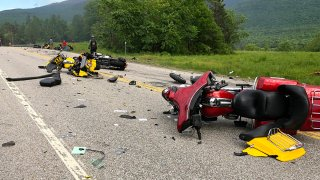 Motorcycles Crash