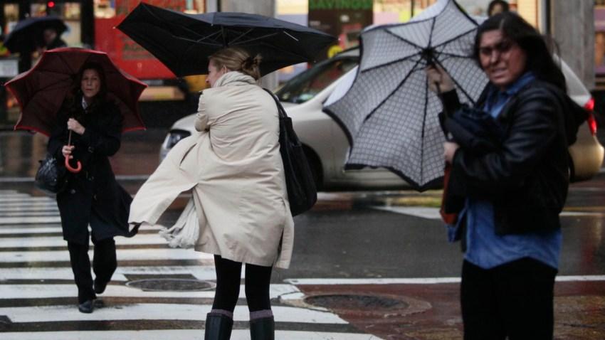 APTOPIX Severe Weather NYC