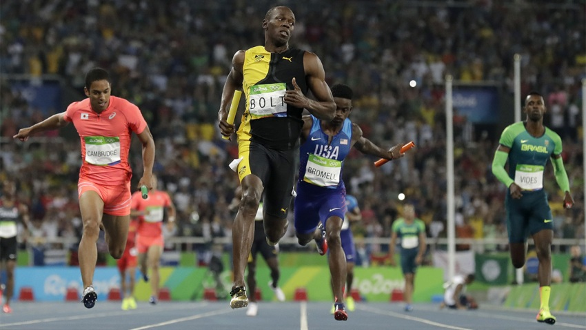 Usain Bolt Wins 3rd Rio Gold Medal, Giving Him 9 for ...