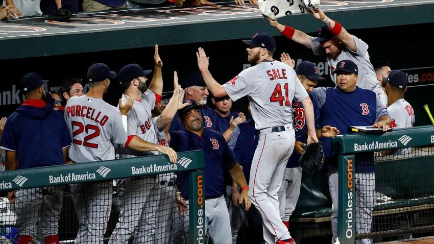 APTOPIX Red Sox Orioles Baseball