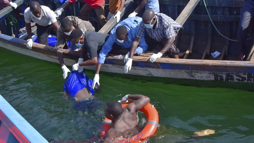 Tanzania Ferry Capsizes