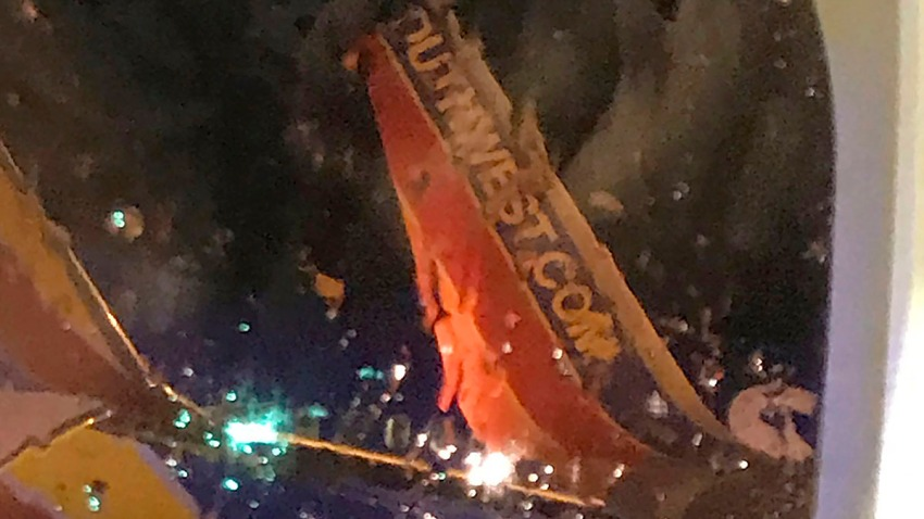 Southwest Airlines-Tarmac Collision