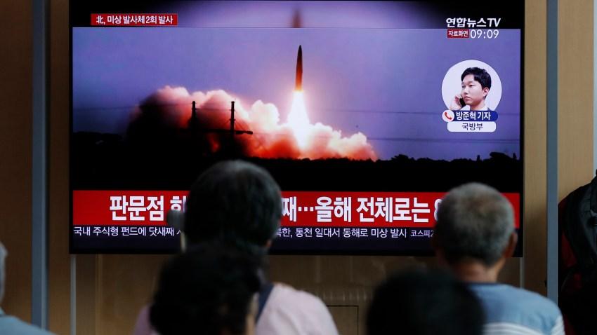 South Korea North Korea Projectiles