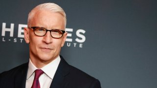 Anderson Cooper attends the 13th annual CNN Heroes: An All-Star Tribute at the American Museum of Natural History
