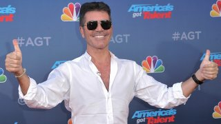 "Simon Cowell attends ""America's Got Talent"" season 15 red carpet at the Pasadena Civic Auditorium on Wednesday, March 4, 2020, in Pasadena, Calif."
