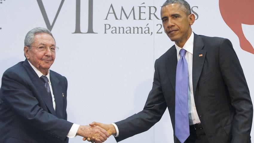 APTOPIX Obama Summit United States Cuba