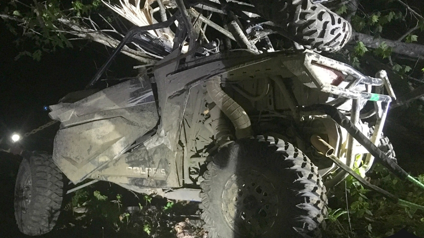 ATV crash Bingham Maine