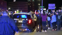 Protesters Clash with Police in Manchester, NH