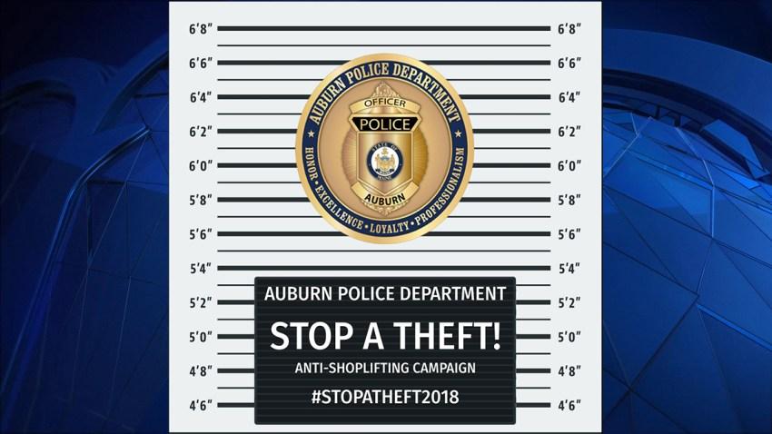 Auburn Maine Anti-Shoplifting Campaign