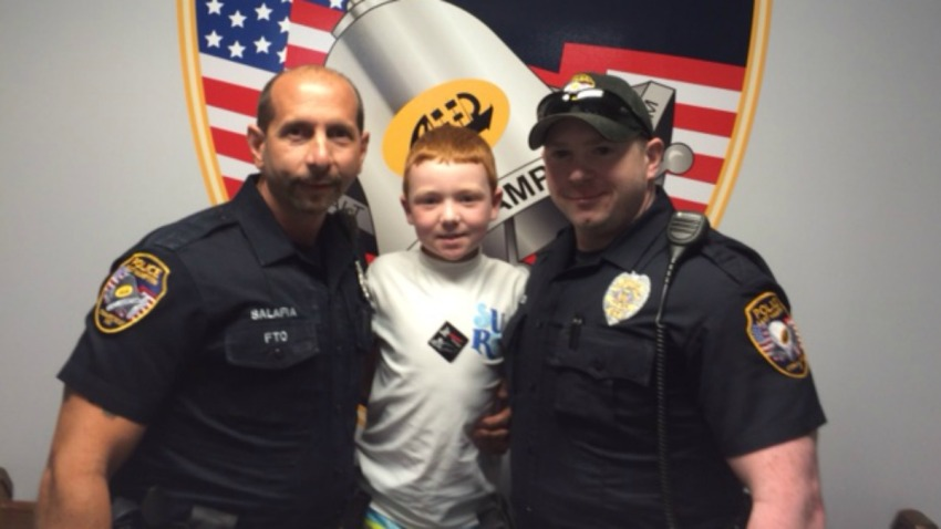 Bagels and doughnuts for police in East Hampton