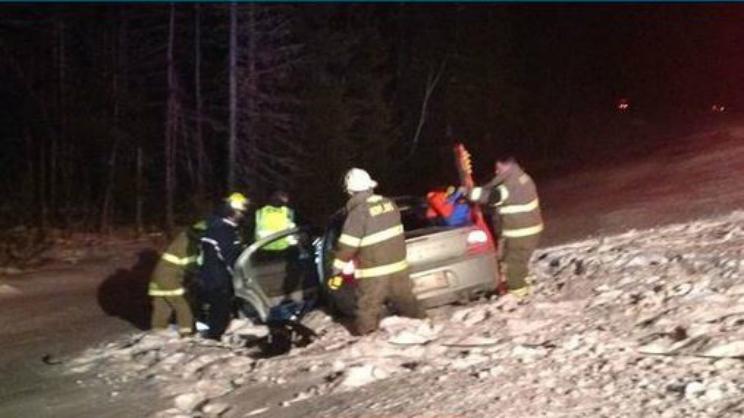 Bangor Maine Moose Crash