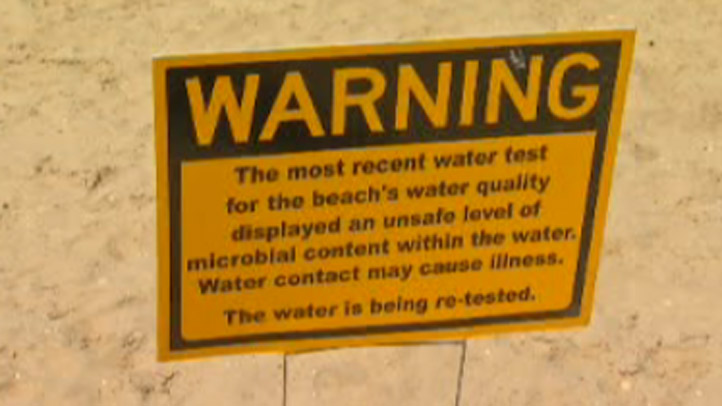 Beach-Warning