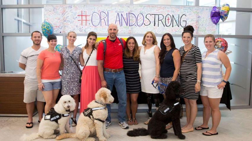 Boston Marathon Orlando Survivors