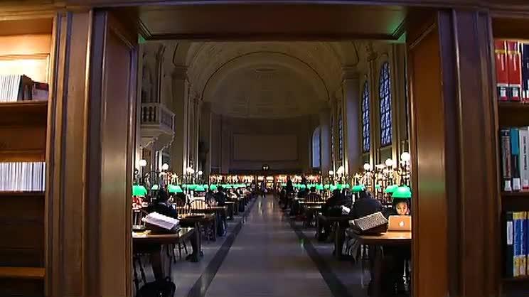 Boston Public Library Interior