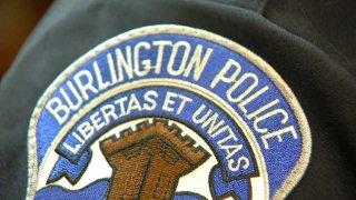 Burlington police badge