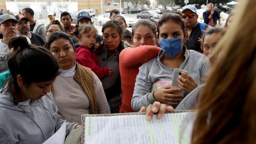 Asylum Border Wait Lists