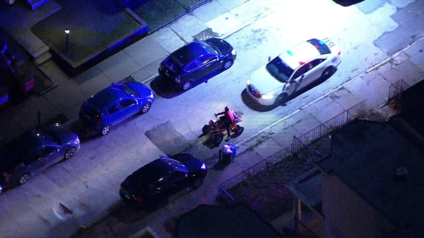 Man on ATV Taken Into Custody