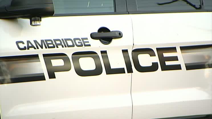 Cambridge MA police generic stock photo