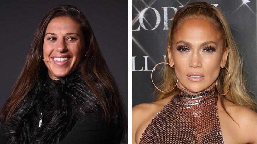 Carli Lloyd, Jennifer Lopez split