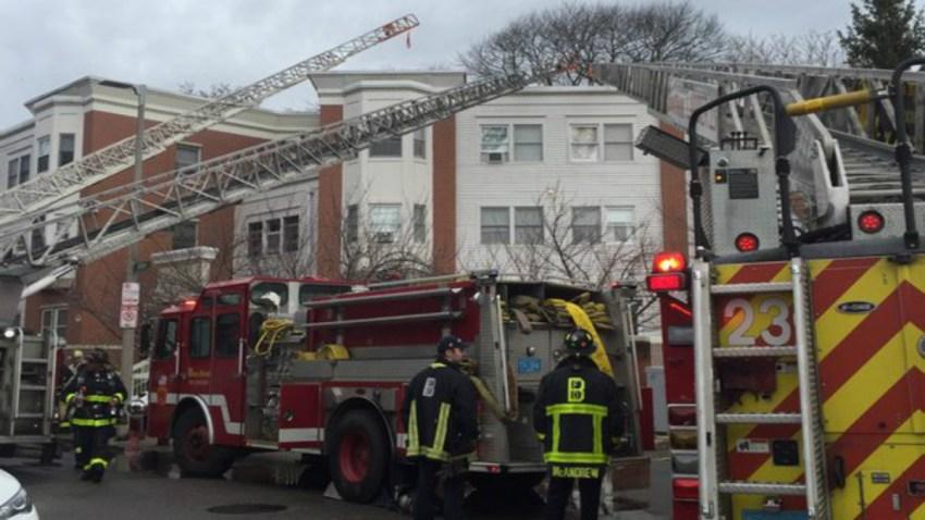 Fire Boston Senior Housing Complex