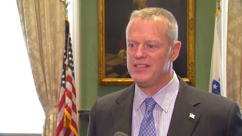 Charlie Baker April 2019