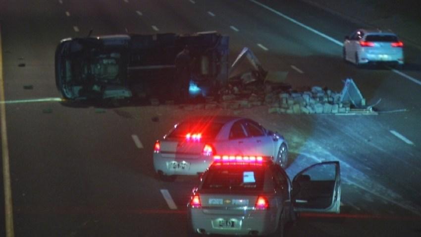 Cranston I95 Box Truck Crash