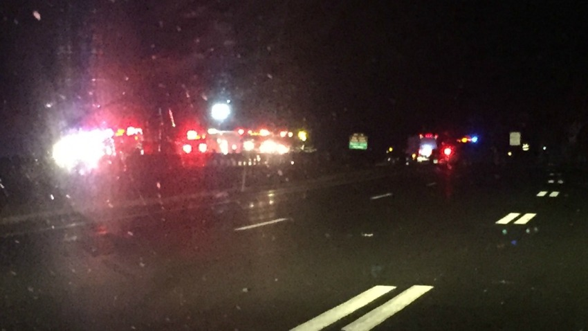 Crash on Route 2 in Colchester