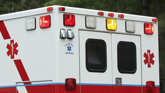 Dan Ryan Crash Ambulance File Photo