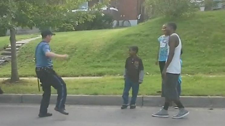 Dancing Officer