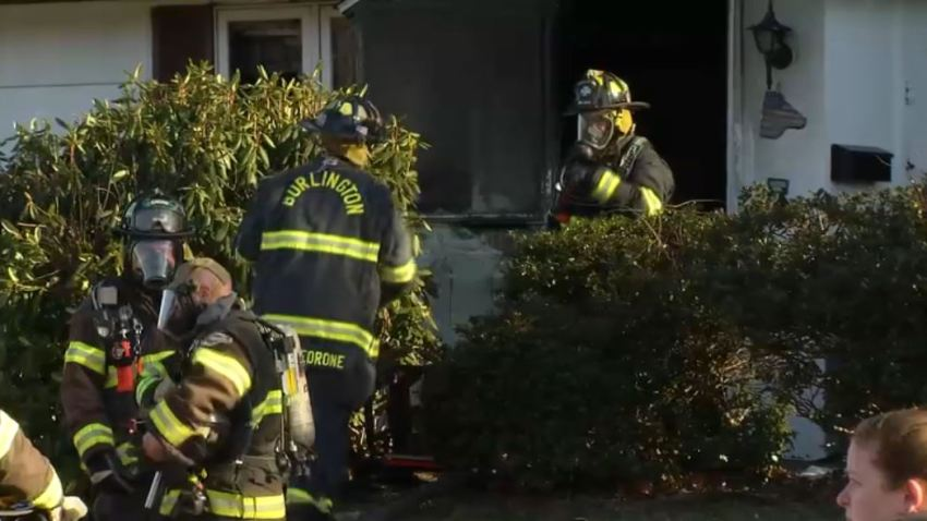 Man Dies in Mass. House Fire; Deliveryman, Neighbor Save Woman From Blaze