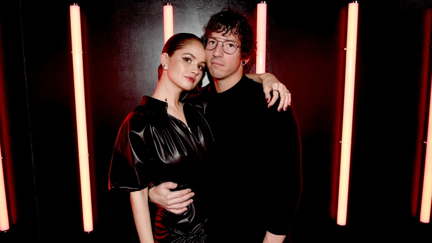 In this Dec. 10, 2019, file photo, Debby Ryan and Josh Dun attend Naughty Or Nice: A Swarovski Holiday Celebration in New York City.