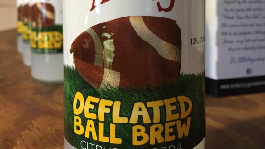 Deflated ball brew dm 1200