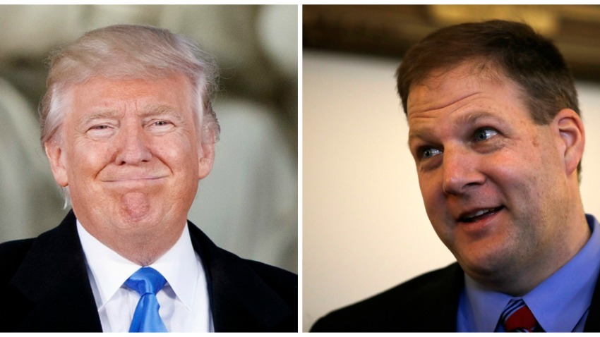 Donald Trump Chris Sununu