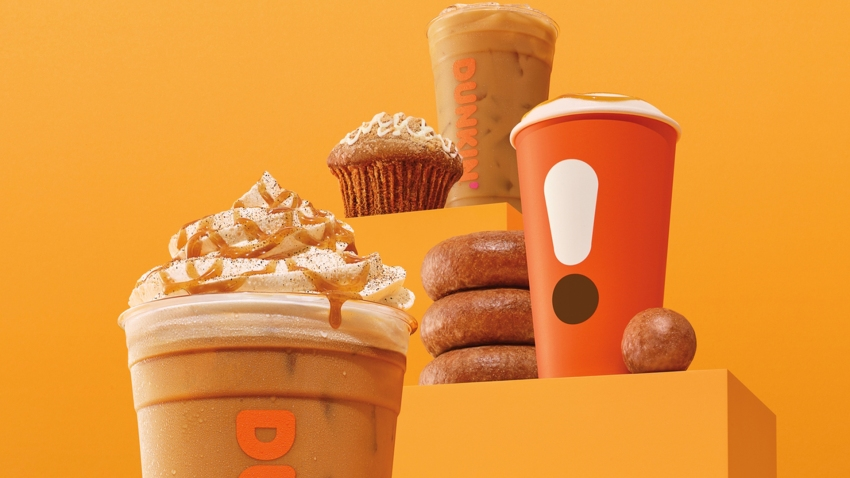 Dunkin' Rolling Out Pumpkin-Flavored Coffee, Whether You ...