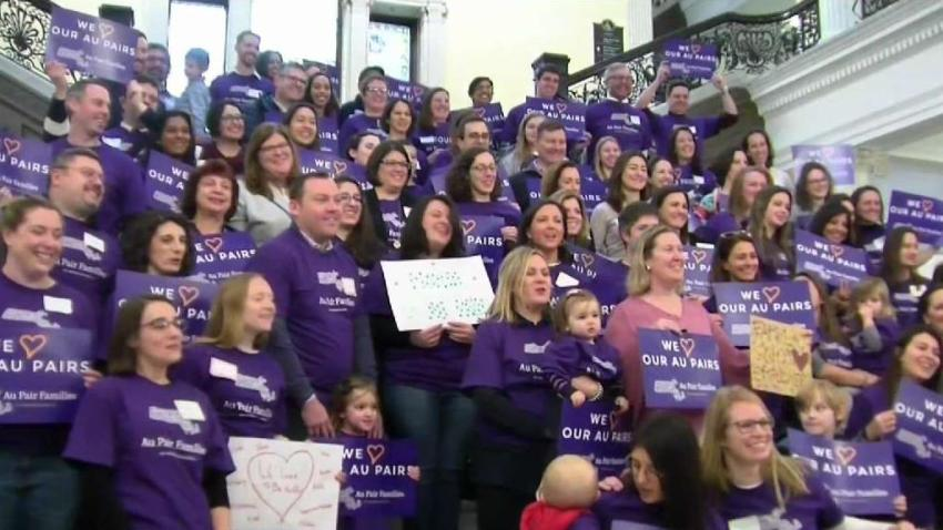 Host Families Protest New Regulations for Au Pairs