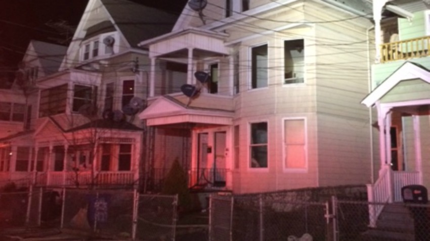 Fire on Howard Avenue in New Haven