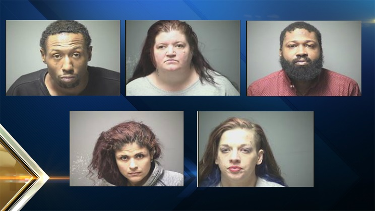 Five Arrested in Manchester