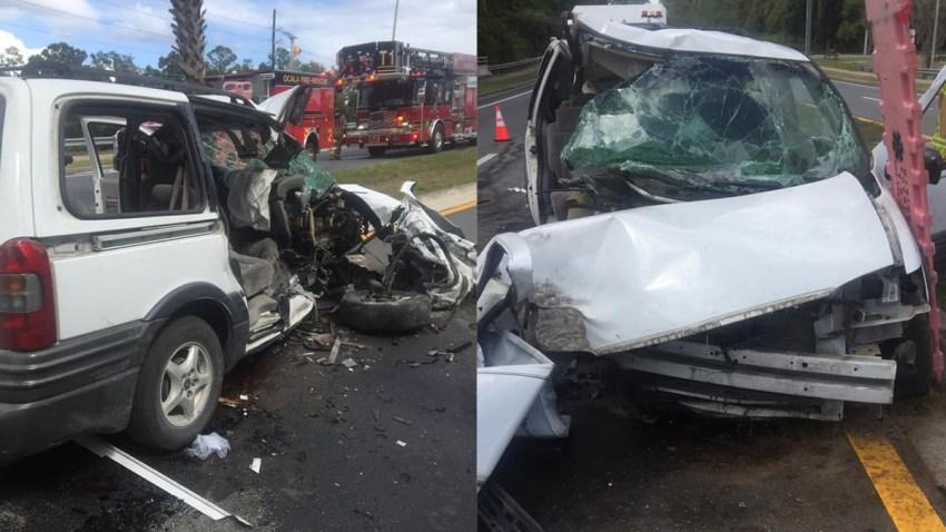 Florida woman crashed into tree to kill children