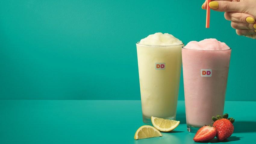Frozen Lemonade Sampling Day