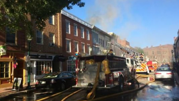 Gardiner Fire July