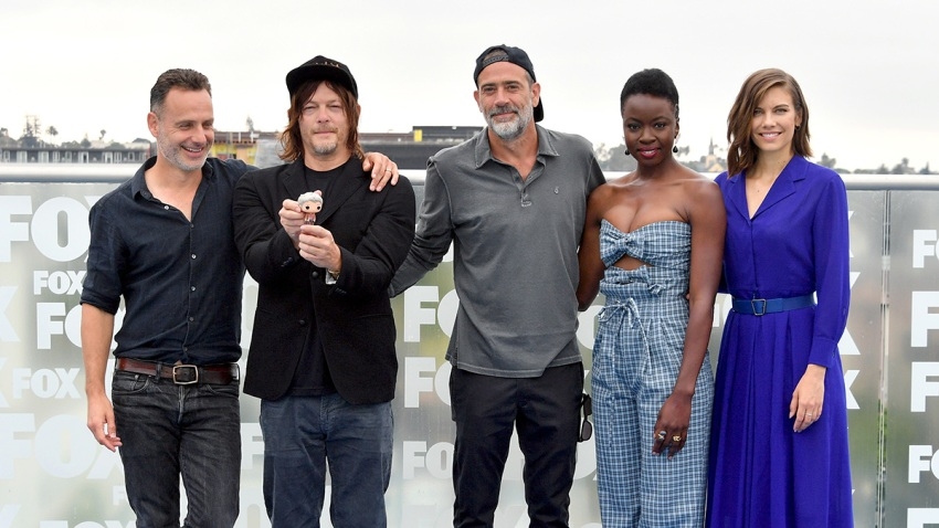 """The Walking Dead"" Crew Gets Together"