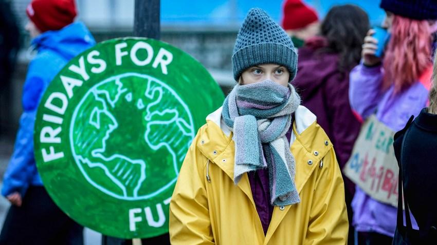 Swedish environmental activist Greta Thunberg