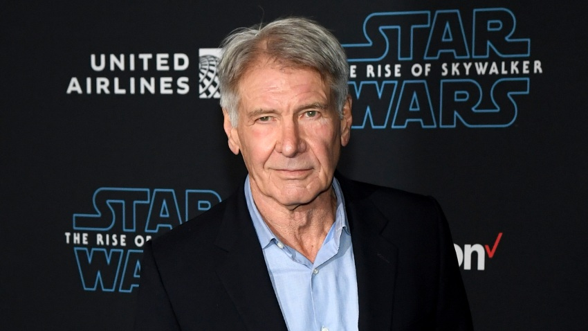 """Harrison Ford arrives at the Premiere of Disney's """"Star Wars: The Rise of Skywalker"""""""